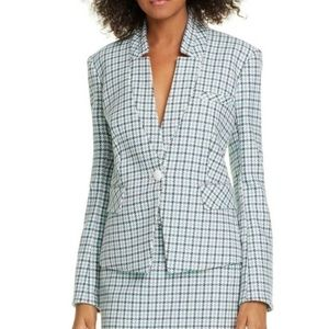 NWT! VERONICA BEARD Farley Plaid Dickey Blazer